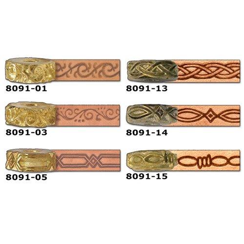 8091-01 Disc embosare margini piele.
