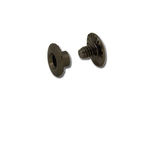 1296 Set 10 suruburi pt pielarie, 3 mm