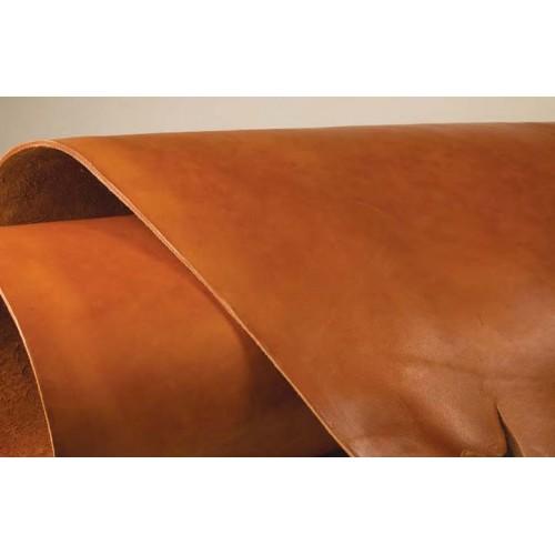 Piele tabacita vegetal si vopsita pentru sei, Tandy Leather