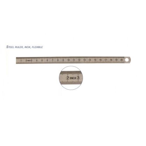 214.191 Rigla flexibila din INOX, 150mm