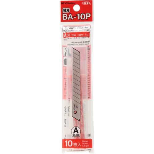 Set 10 lame cutter de tip A de 9mm NT Cutter