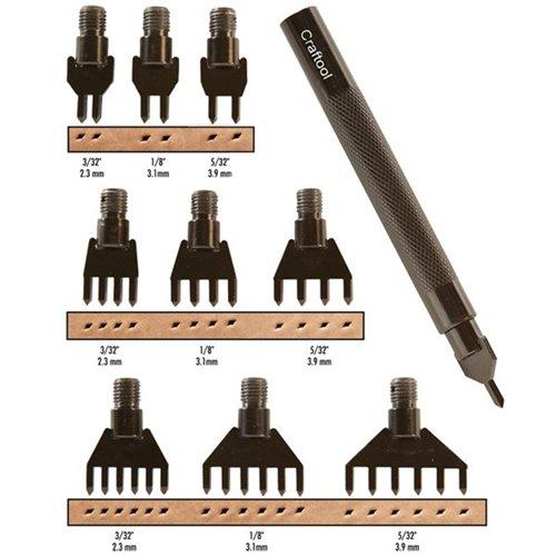 3009-00 Set perforare pentru cusaturi in pielarie.