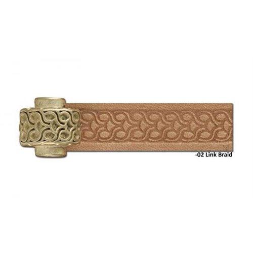 8092-02 Rola scula cu rola embosat pielarie Crafttool Pro