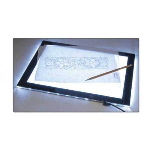 Tableta luminoasa transfer sabloane pielarie sculptura