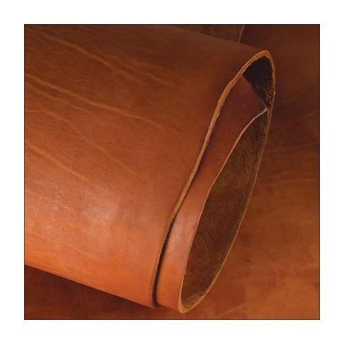 Piele tabacita cu ulei pentru harnasamente, Tandy Leather
