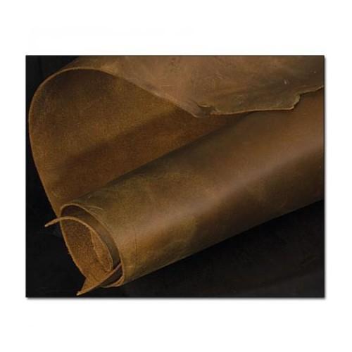 Piele tabacita  cu ulei Pull-up, Tandy Leather