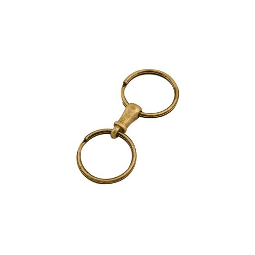 Agatatoare dubla pentru chei, antichizata. Tandy Leather