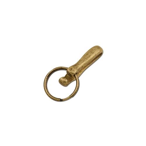 Agatatoare chei pentru curea, antichizata. Tandy Leather