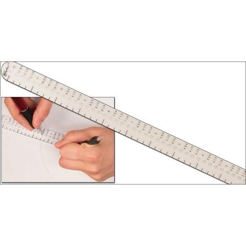 Sablon 306 mm taiere cercuri pentru pielarie, Tandy Leather