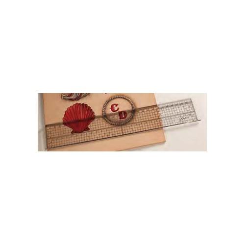 3605-00 Rigla speciala pentru pielarie Tandy Leather
