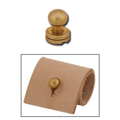 Butoni auriti pentru pielarie. Tandy Leather
