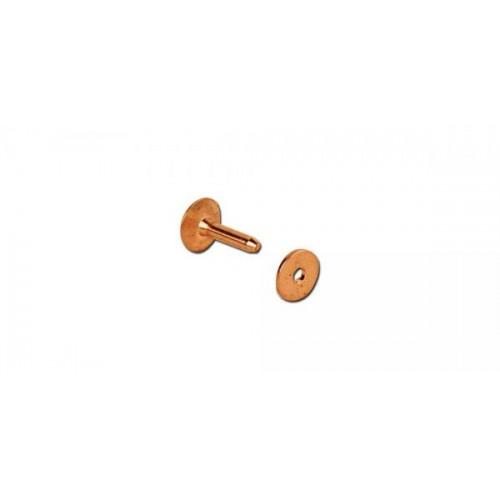 11277-01 Set nituri cu saibe din cupru pielarie Tandy Leather, 7 mm