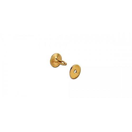 11279-21 Set nituri cu saibe din alama pt pielarie Tandy Leather, 13 mm