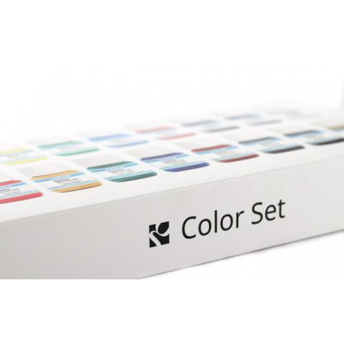Kit vopsele cant piele 18 culori de 30ml BASIC COLOR SET GIARDINI