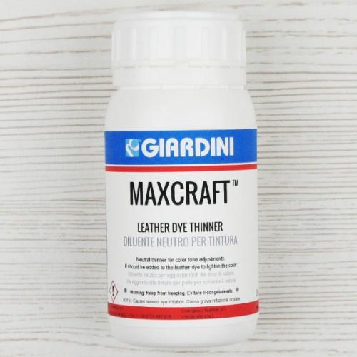 Diluant pentru vopsea pe baza de apa Giardini Maxcraft Leather Dye.