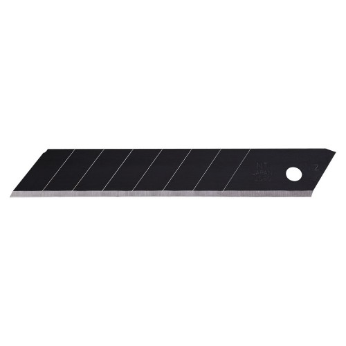SET 10 LAME CUTTER NEGRE -EXTRA SHARP  DE TIP L DE 18MM NT Cutter