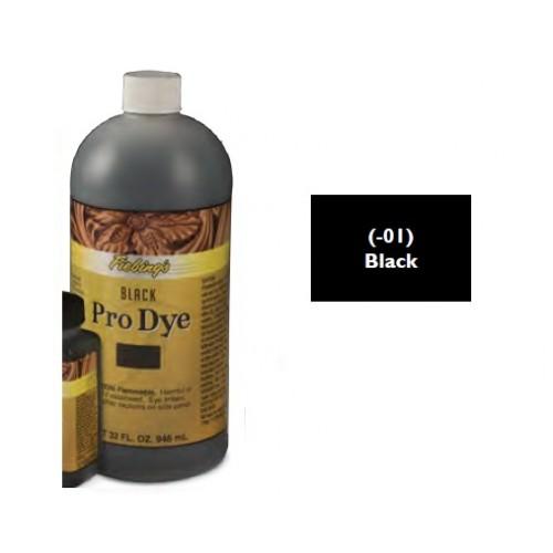 2111-01 Vopsea neagra Fiebing pt piele 946ml