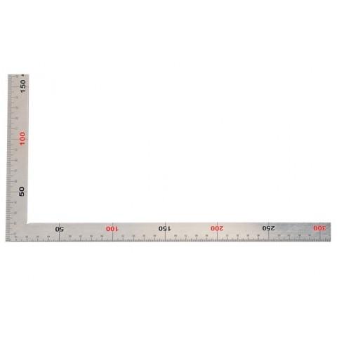 Echer pielarie din inox, 150x300 mm