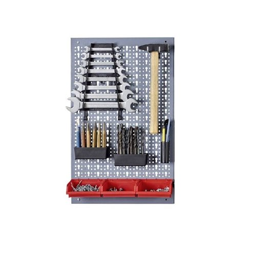 Panou perforat vertical/orizontal 400x600 pentru scule profesionale