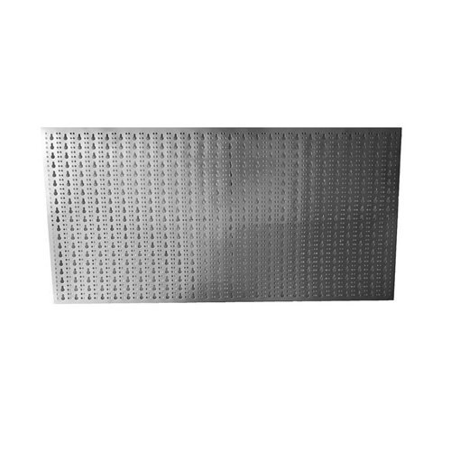 Panou perforat orizontal  din INOX,  1000x500mm