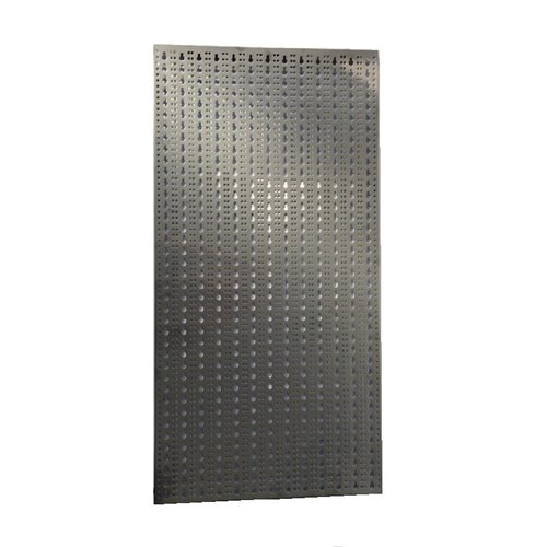 Panou perforat vertical  din INOX,  1000x500mm
