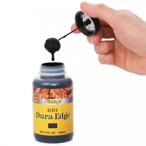 Vopsea margini piele Fiebings Dura Edge, 236ml