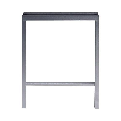 Picior metalic dublu 575x835x100 mm, pentru masă de lucru