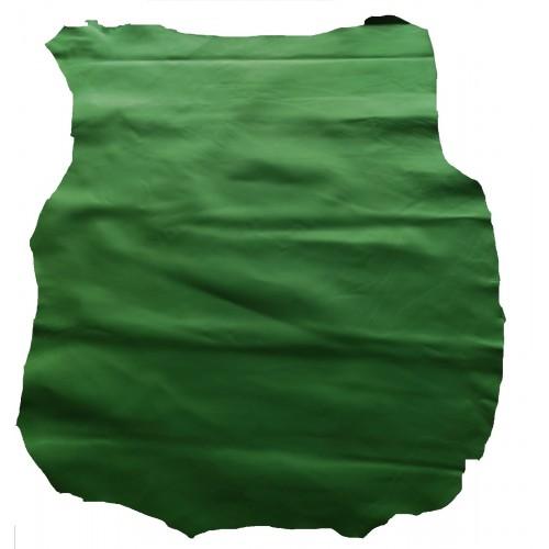Piele capra captuseala/proiecte mici,verde inchis