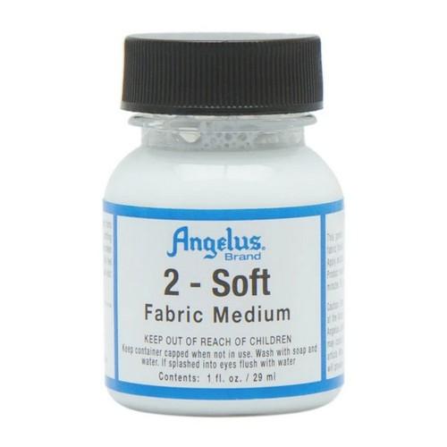 Aditiv vopsele acrilice pentru suprafete moi Angelus 2-SOFT 29.5ml