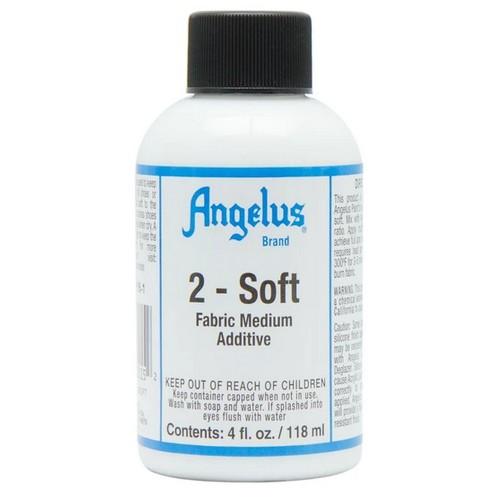 Aditiv vopsele acrilice pentru suprafete moi Angelus 2-SOFT 118ml