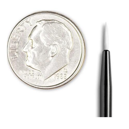 Pensula micro detalii pentru vopsea Angelus -0 Round