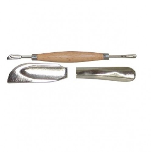 Scula modelaj in piele naturala - lingura si lama