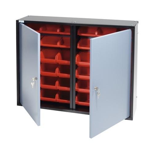 Dulap cutii organizare cu 2 usi si 36 cutii,  800x600x200mm