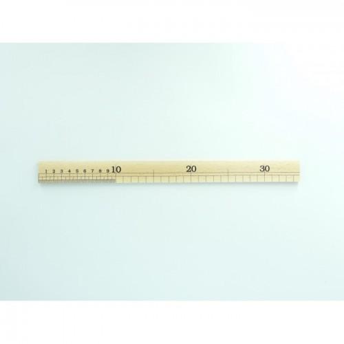 Rigla de lemn 35 cm,   Vergez Blanchard